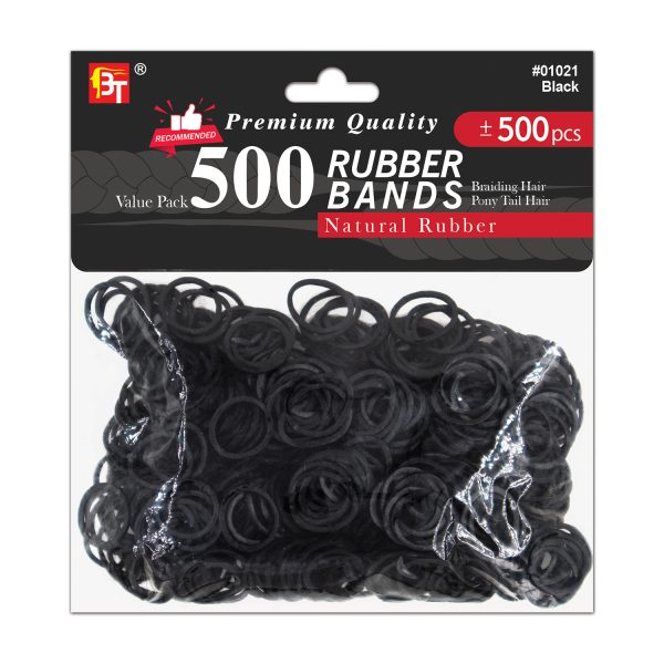 500pcs Rubber Bands