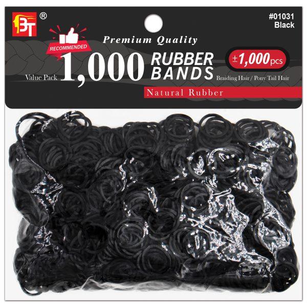 1,000pcs Rubber Bands